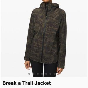 ISO: lululemon break a trail jacket